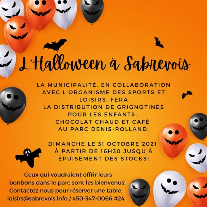 Halloween à Sabrevois